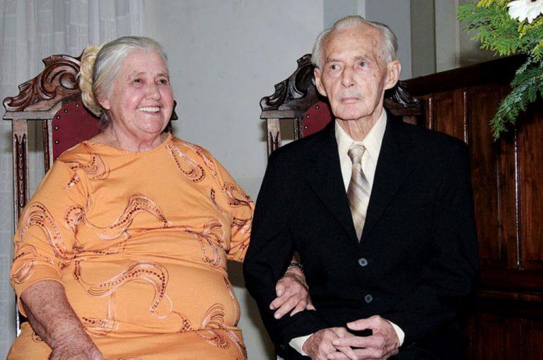 Sr. Cilas e D. Laurinda